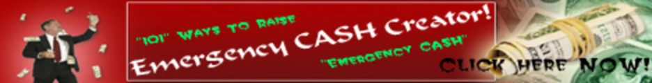 Thumbnail 101 Ways to Raise Emergency Cash ++With PLR++