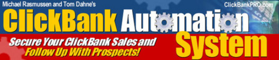 Thumbnail Clickbank Automation System ++With MRR++