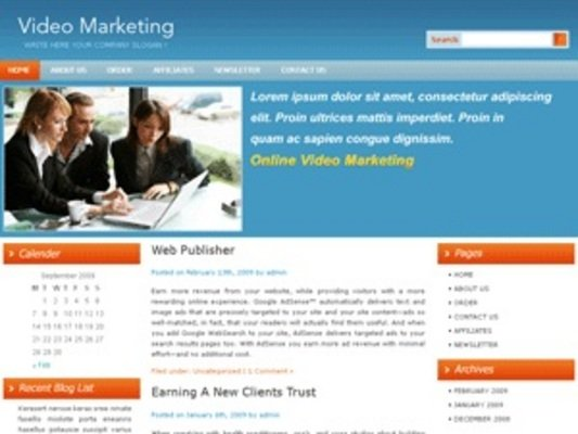 Product picture 5 Blog Themes ++With PLR++