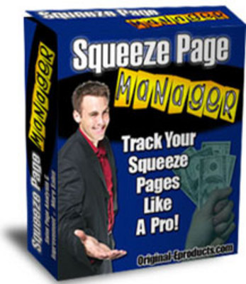 Product picture Squeeze Page Manager ++With MRR++