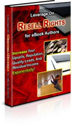 Product picture Leverage On Resell Rights For eBook Authors ++With PLR++