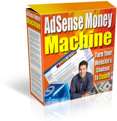 Product picture Adsense Money Machine ++With MRR++