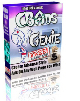Product picture CBAds Genie ++With MRR++