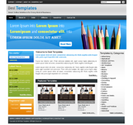 Product picture 3 HTML Templates ++With PLR++