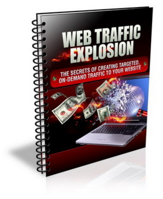 Product picture Web Traffic Explosion ++With MRR++