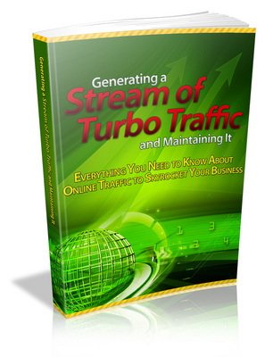Product picture Generating a Stream of Turbo Traffic&Maintaining It With MRR