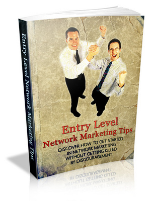 Product picture Entry Level Network Marketing Tips ++With MRR++