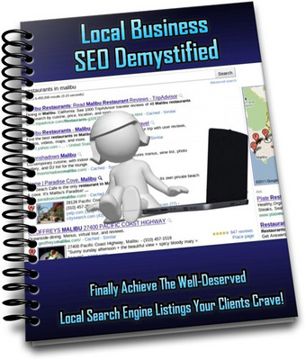 Product picture Local Business SEO Demystified ++With MRR++