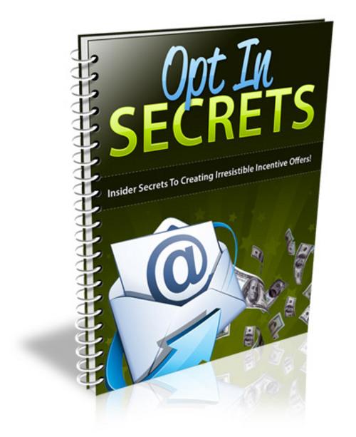 Product picture OptIn Secrets